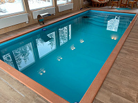 Capacitive equipment, water treatment and pools